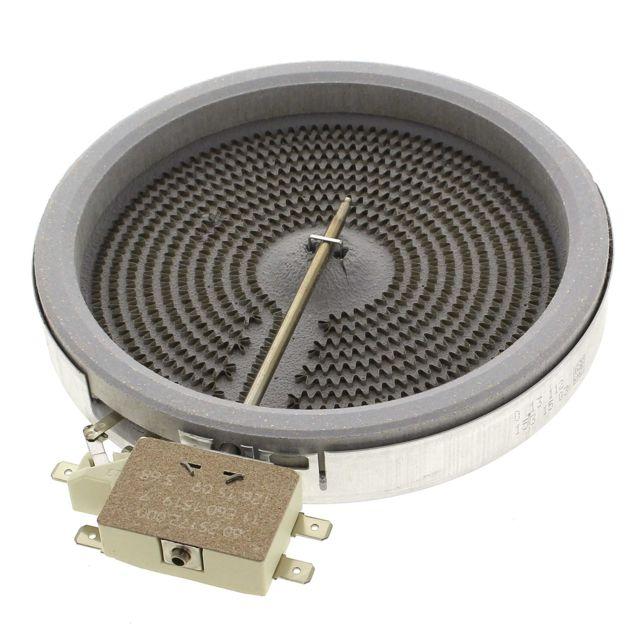 Electrolux Foyer radiant 1200w d=145 10.54111.004 pour Cuisiniere Rosieres, Table de cuisson Rosieres, Table vitroceramique Rosiere