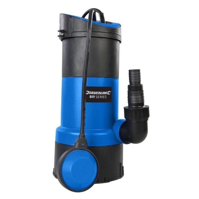 Silverline Pompe submersible pour eaux claires et usées 750 W - 750 W