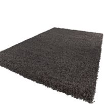 Paco-home - Tapis Shaggy Longues Mèches En Anthracite 80D