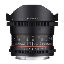 SAMYANG - 12mm T3.1 ED AS NCS Fisheye VDSLR II monture Canon