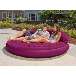 Intex fauteuil gonflable lounge cosy pas cher achat for Fauteuil gonflable piscine intex
