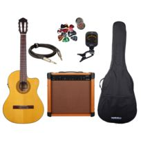 Eagletone - Packs Guitare Pack Solea Eq + Barrow 40w + Accessoires Packs Guitare Classique