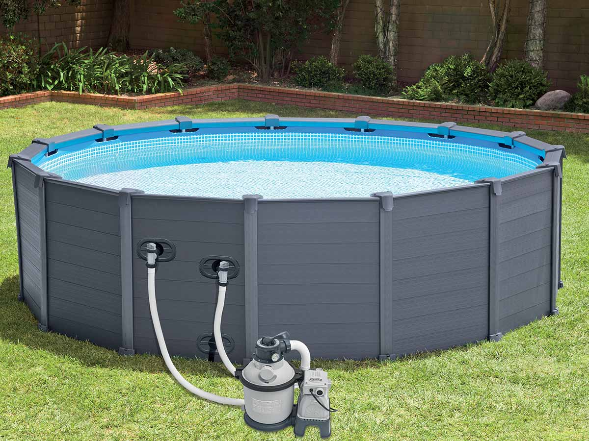 Kit habillage piscine intex - Habillage piscine hors sol intex ...