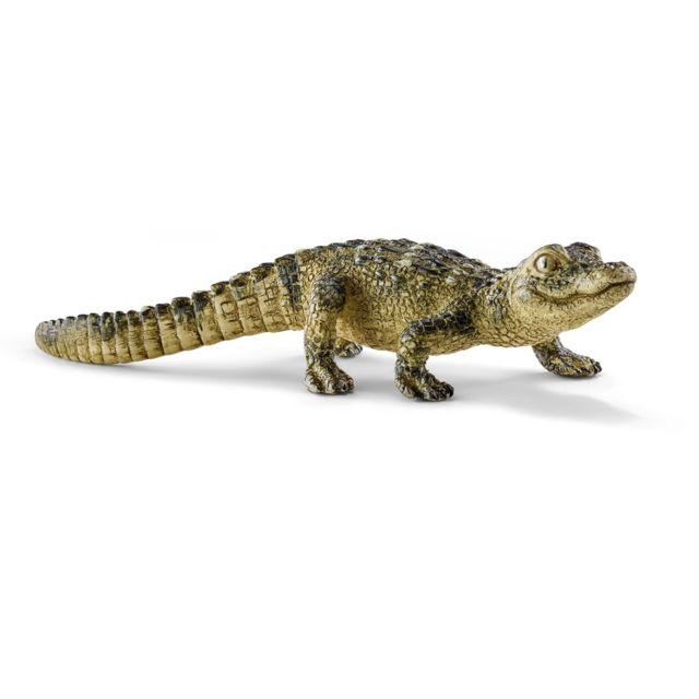 Schleich - Figurine alligator bébé - pas cher Achat   Vente Animaux ... 27ccc816bd5