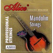 Alice - Jeu de 8 cordes pour mandoline - sous blister