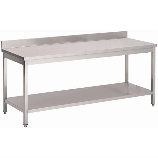 Gastro M Table Inox Murale Pro - Gamme 700 inox 700x700 700