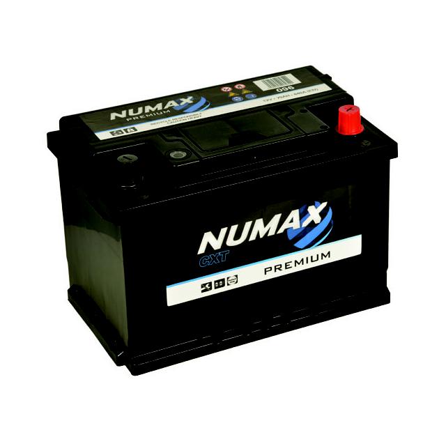 Batterie de démarrage Lucas Premium LB3 LC096 12V 70Ah 640A