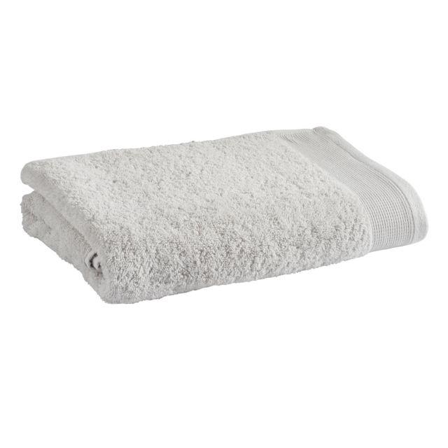 TEX HOME Drap douche en coton durable Drap douche en coton durable 70x140 cm - gris clair