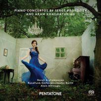 Pentatone - Serge Prokofiev | Aram Khachaturian - Concertos pour piano Boitier cristal