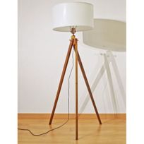 lampadaire tripod achat lampadaire tripod pas cher rue du commerce. Black Bedroom Furniture Sets. Home Design Ideas