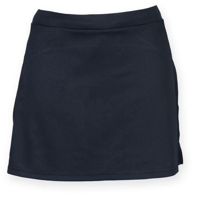GENERIC Finden & Hales - Jupe-short de sport - Femme XL, Bleu marine Utrw4162