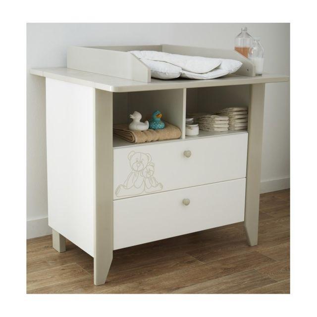 demeyere commode teddy bear table a langer pas cher achat vente table langer rueducommerce. Black Bedroom Furniture Sets. Home Design Ideas