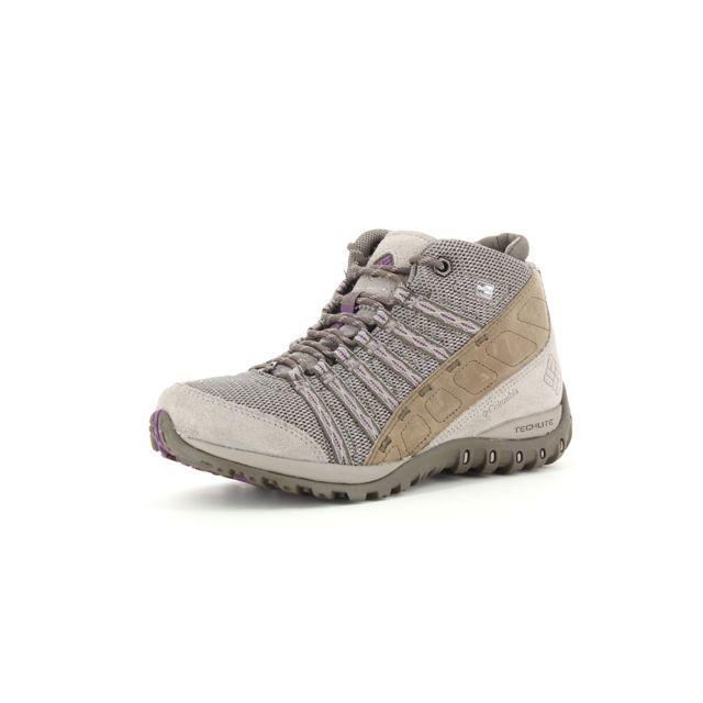 Columbia - Chaussures de randonnée Yama Ii Mid Outdry Gris - 36