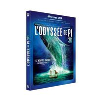 Unknown - L'Odyssée de Pi - 3D - 2 Blu-Ray 1 Dvd Blu-ray 3D