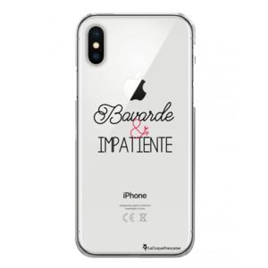 coque rigide transparente iphone x