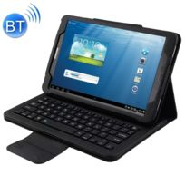 Wewoo - Clavier noir pour Samsung Galaxy Tab A 10.1 2016 T580 / T585 Séparable Litchi Texture Étui en cuir Flip Horizontal + Bluetooth avec support 2 en 1