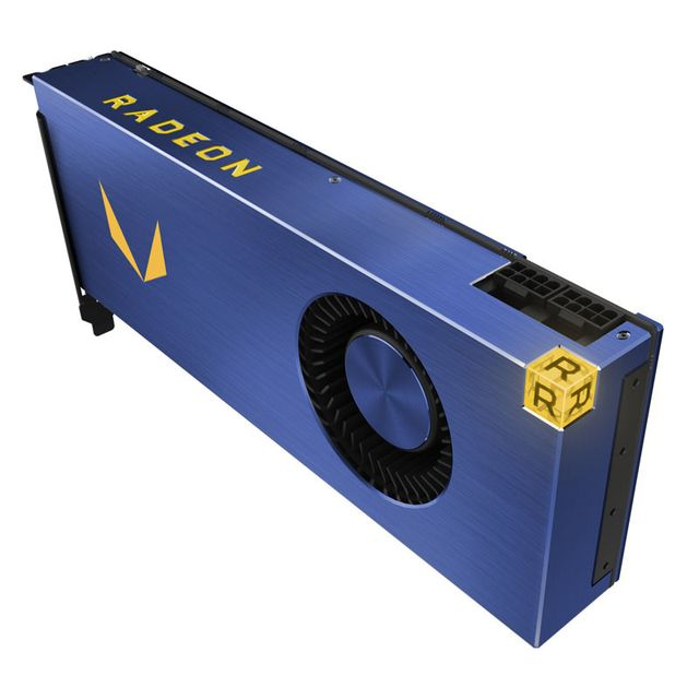 Amd Carte graphique Radeon Vega Frontier Air, 16384 Mb Hbm2, 3x Dp, 1x Hdmi