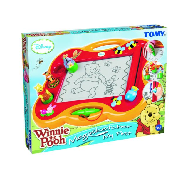TOMY - WINNIE L\'OURSON - Mon premier Megasketcher - ardoise magique ...