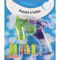 Kim'PLAY - Pistolet à Bulle Automatique