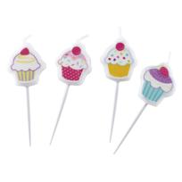 Amsc - 4 Bougies Cupcake