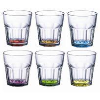 Luminarc - Lot de 6 verres 30cl Agrumes