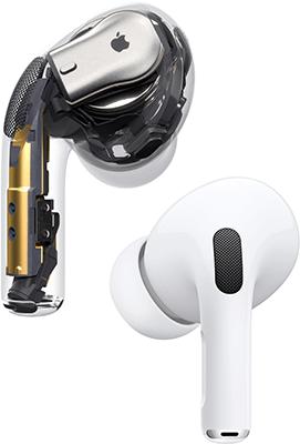 apple airpods pro reduction de bruit active
