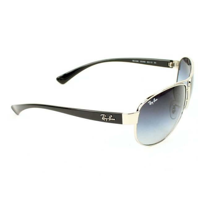 Ray Ban Ray Ban Rb3386 0038G Argent noir Lunettes