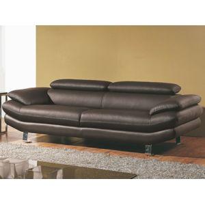 la maison du canap canap cuir 3 places carlton. Black Bedroom Furniture Sets. Home Design Ideas