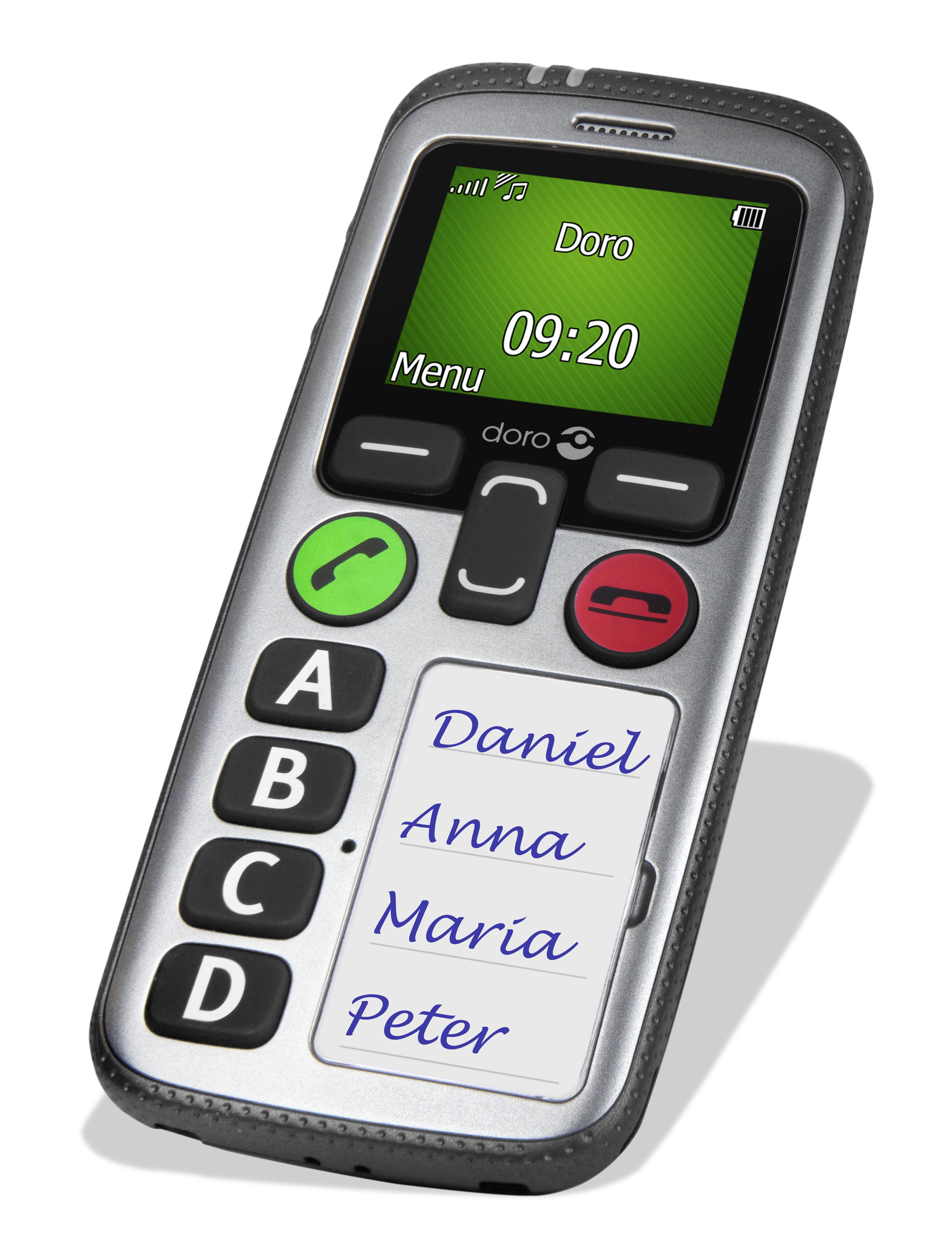 Doro matra t l phone portable doro 580 argent noir pas - Telephone portable doro pas cher ...