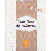 Touslescadeaux - Livre de naissance - Album Naissance Textes Photos - 56 pages - Garçon