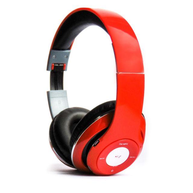 Casque Audio Bluetooth Rouge - TM-010