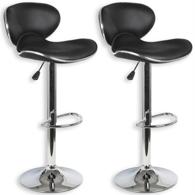 Idimex Lot De 2 Tabourets De Bar Lounge Chaise Haute Pour Cuisine