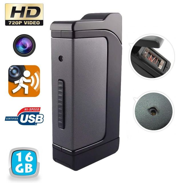 33 sur yonis briquet cam ra espion temp te hd 720p mini appareil photo usb 16 go vendu par. Black Bedroom Furniture Sets. Home Design Ideas