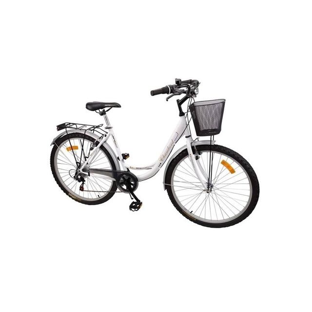 MERCIER - Vélo 26 CLASSIC LADY BLANC NOIR