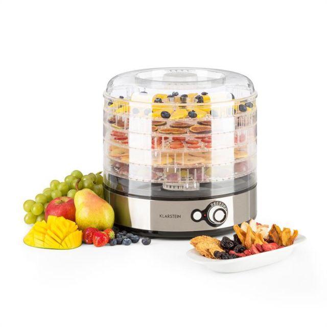 KLARSTEIN Fruitower M Déshydrateur 35-70°C 5 étages 200-240W