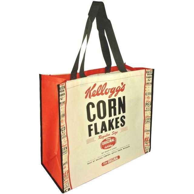 plus de photos aea1b d9d70 Sac Cabas Pour Courses Shopping Licence Kellogg's Corn Flake Original