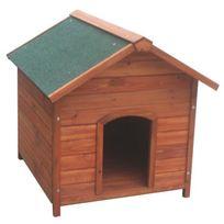Poils & Plumes Chien - Poils & Plumes Niche Milou M en bois 78x88x81 cm - Pour chien