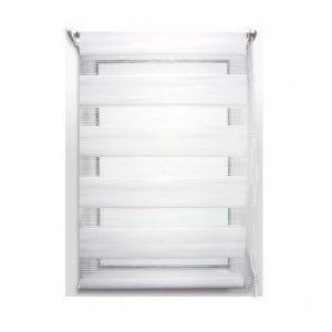 marque generique store enrouleur 45 x h180 cm jour nuit blanc pas cher achat vente. Black Bedroom Furniture Sets. Home Design Ideas