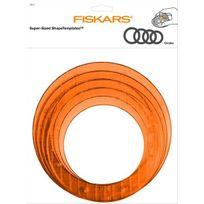 Fiskars - Gabarits de découpe géants cercles