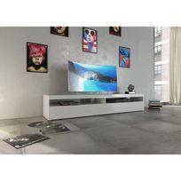 Finlandek - Salle A Manger - Finlandek Meuble Tv 200cm laqué blanc Hauska