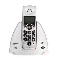 Geemarc - Blanc Téléphone sans fil amplifié version Française