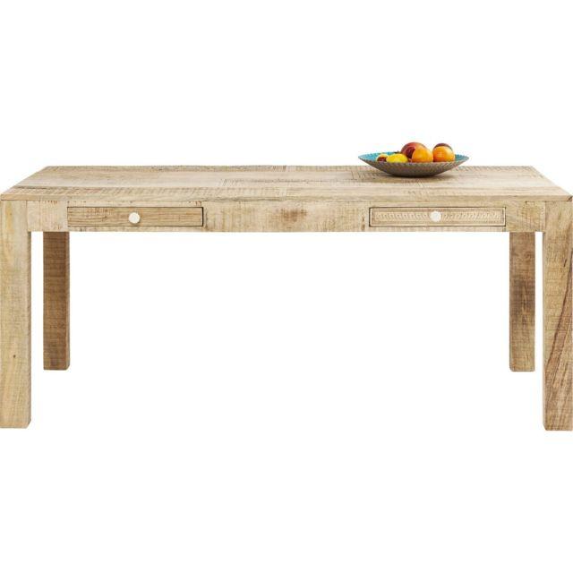 Karedesign Table Puro 2 tiroirs 180x90cm Kare Design