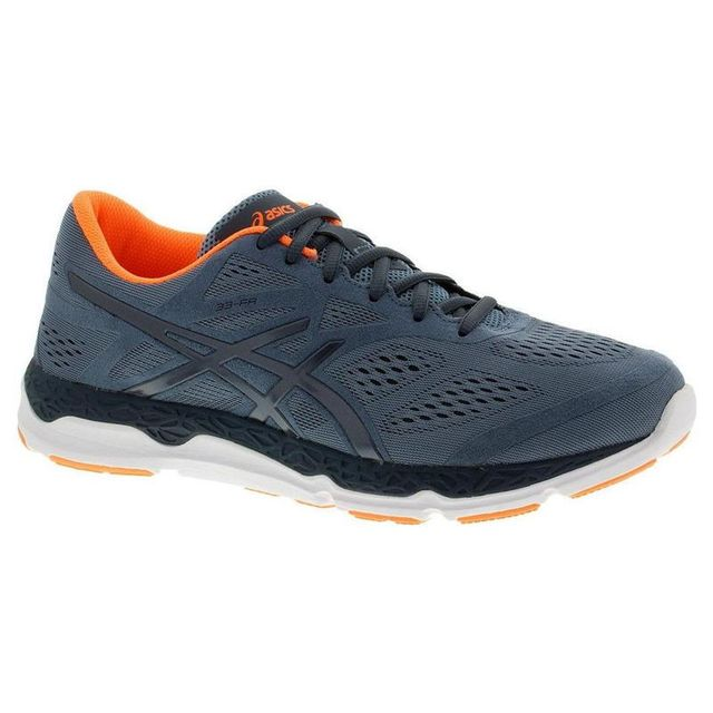 76c9f18d095 Asics - Chaussures 33-FA Gris-Orange - pas cher Achat   Vente Chaussures  running - RueDuCommerce