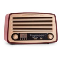 Oneconcept - Dabby-Holly Radio rétro Fm/AM Mp3 Usb Sd Aux