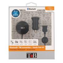 T'NB - Transmetteur Fm Bluetooth + kit mains libres