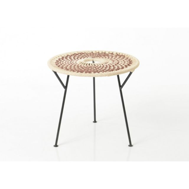 Amadeus Table basse Baya Marron Outdoor