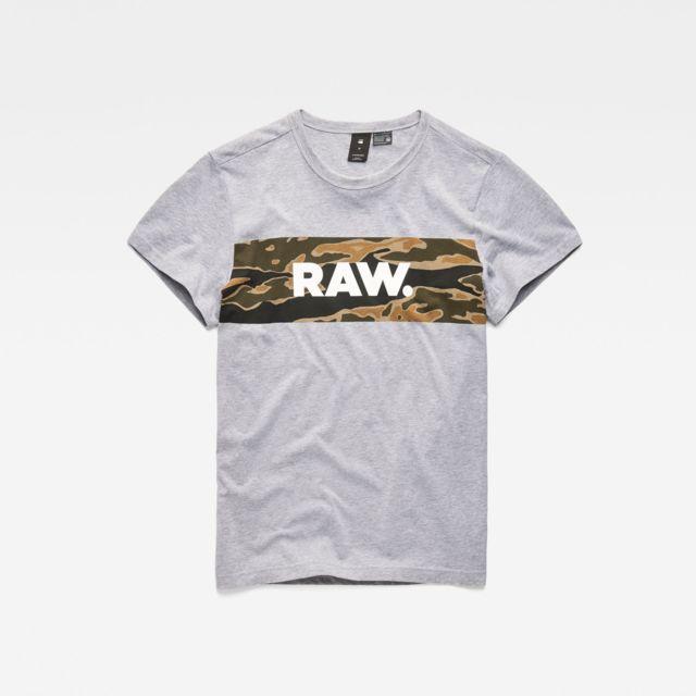 G STAR RAW T shirt Tairi pas cher Achat Vente Tee