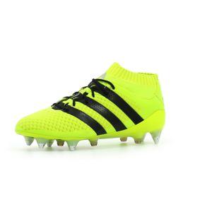 adidas ACE 16.1 Primeknit SG - Bottes de Football pour Homme, Jaune, Taille: 44