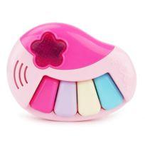 Wewoo - Jeux musicaux pour enfant rose Brettbble Cartoon bébé éducation précoce musique piano jouets avec Led Light