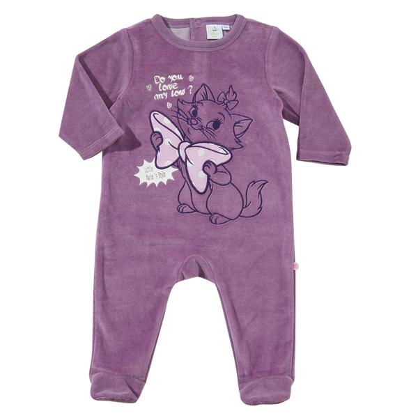 afeb2cc7eccae DISNEY - Pyjama bébé MARIE en velours - pas cher Achat   Vente ...